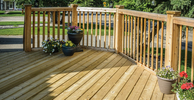 Co Op Can Also Supply Building Materials For Electrical And Plumbing Needs That Be Incorporated Into Your Deck But Benson Said Customers Are