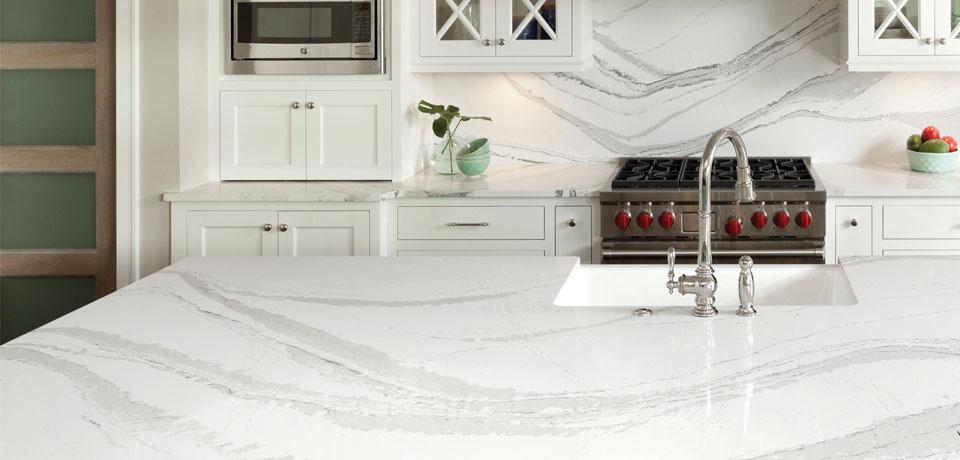 Modern trends in kitchen countertops